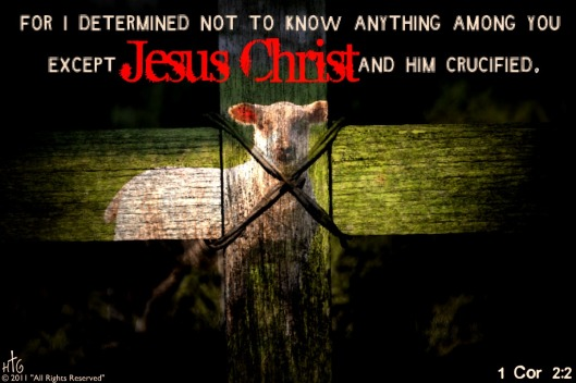 1cor2-2ChristHimCrucified
