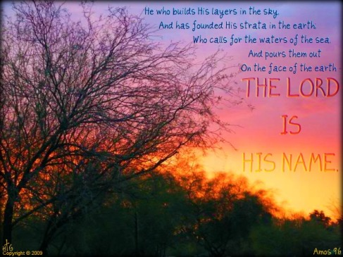 All creation testifies