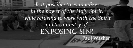 exposing sin