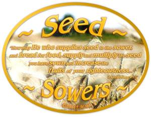 SEED SOWERS GOSPEL OF JOHN