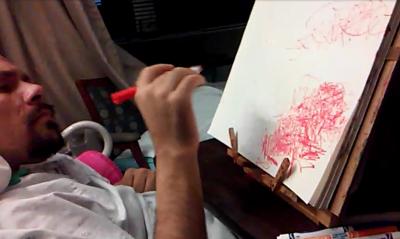 Adam drawing red 10-12